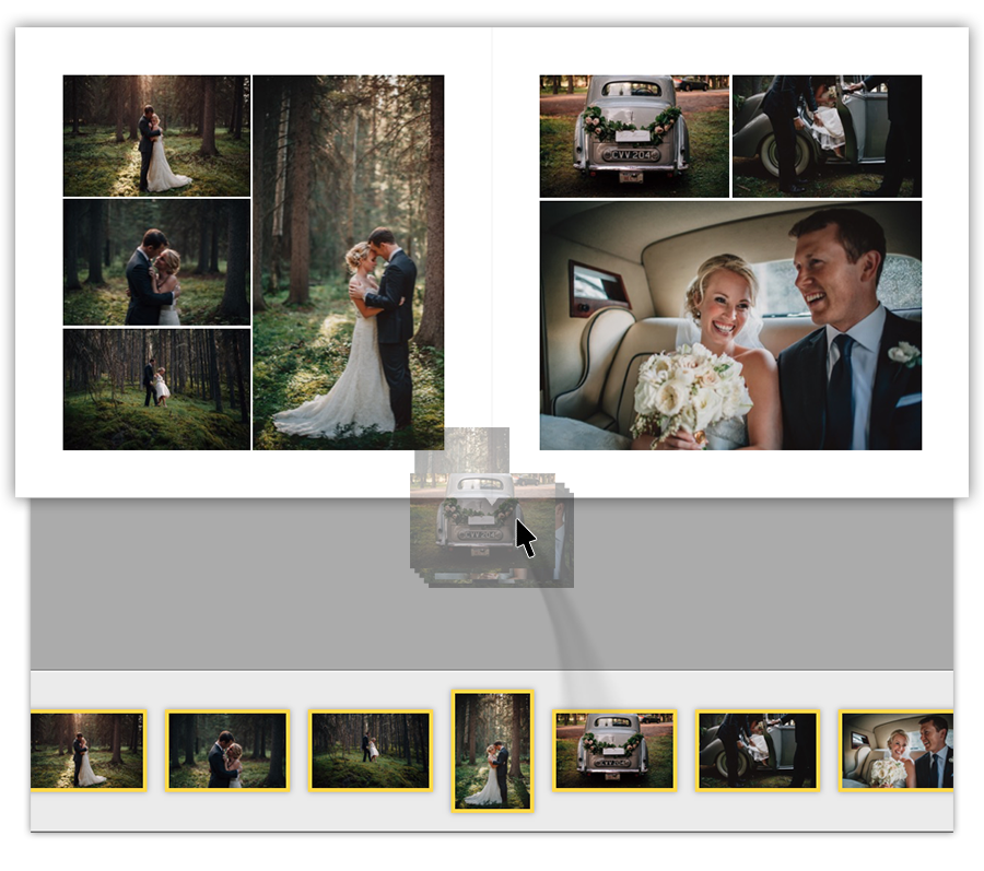 So Excited About This New To Me App Huge Time Saver The Easiest Way To Design Your Albums Photo Book Album Design Wedding Album
