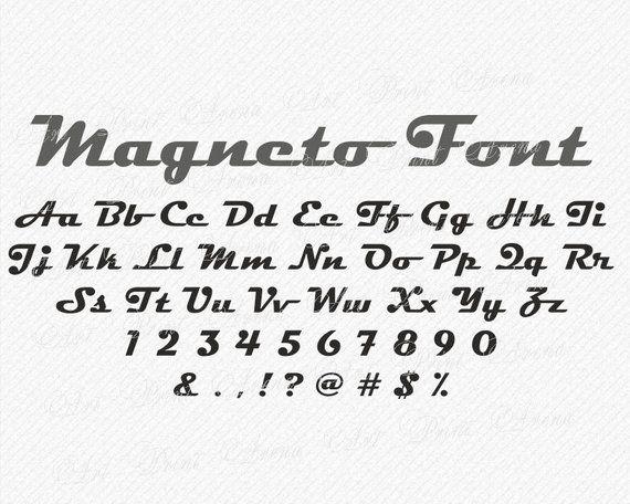Bold italic Font SVG fonts cutting font brush script old font Cricut