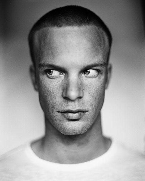 Iljo Keisse By Stephan Vanfleteren No Eyecontact Portret Lyudi Iskusstvo