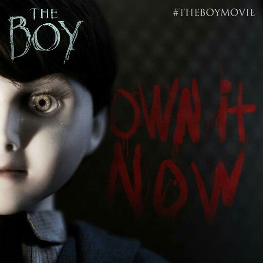 Watching #TheBoyMovie which looks like a good movie from the previews. #HorrorMovies