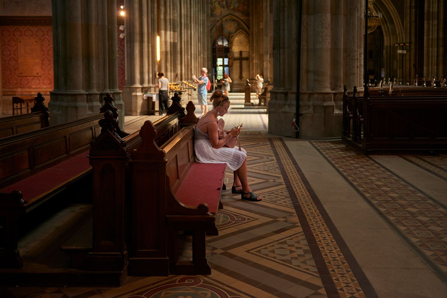 En el silencio de la Catedral