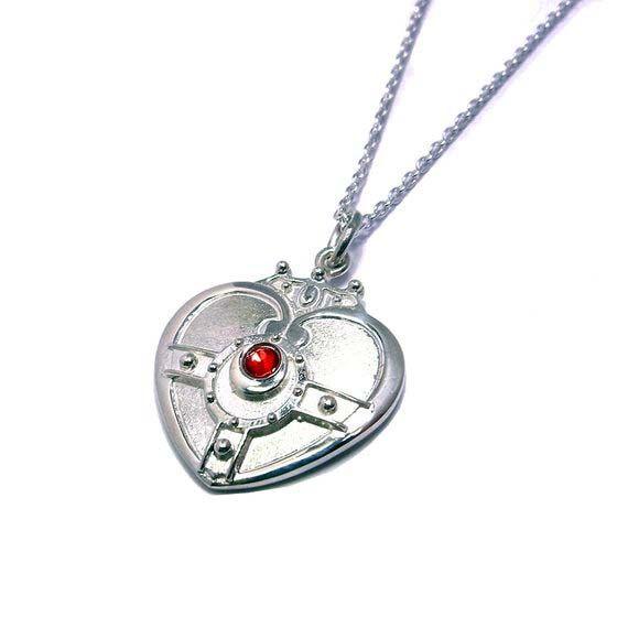 Sailor Moon silver pendant #SailorMoon