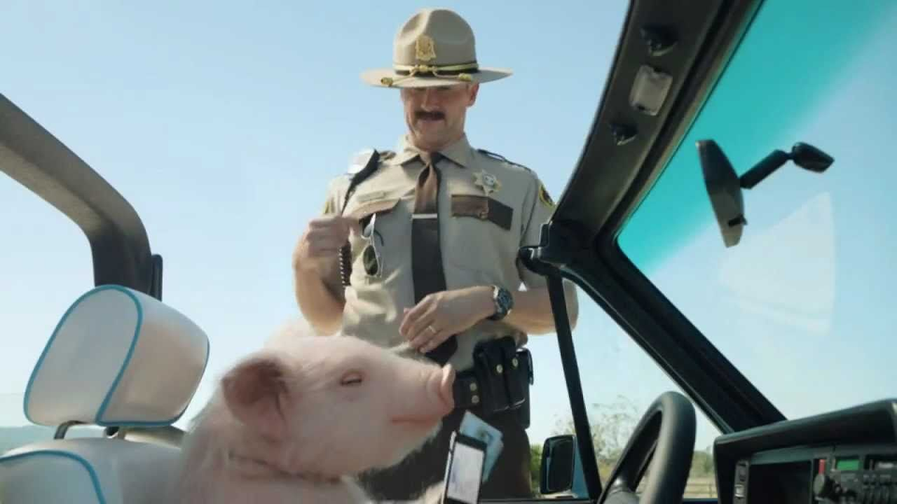 Geico Car Quote Geico Piggy Pulled Over Commercial  Pig Driving A Convertible .