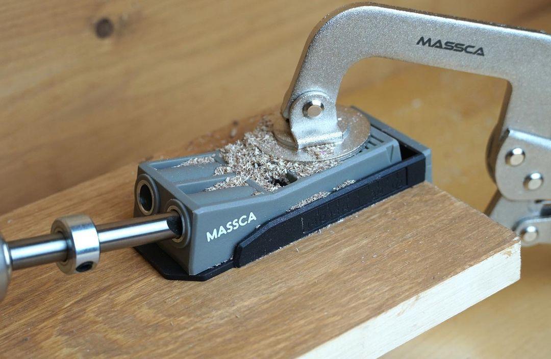 Photo of Massca Twin Pocket Hole Jig Set
