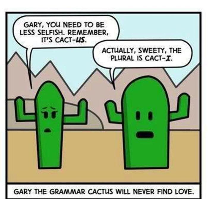 Pin By Julia D On Grammar Memes Funny Cartoons Jokes Funny Cartoons For Kids Teacher Jokes