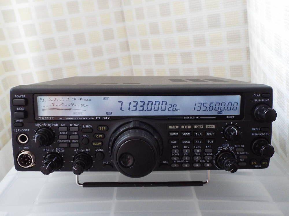 Sale Descuento Us 1250 Yaesu Ft 847 Hf 50 144 430mhz All Mode Transceiver Buy Comprarlo En Ebay Https Goo Gl Fudqxf Ham Radio Radio Car Radio