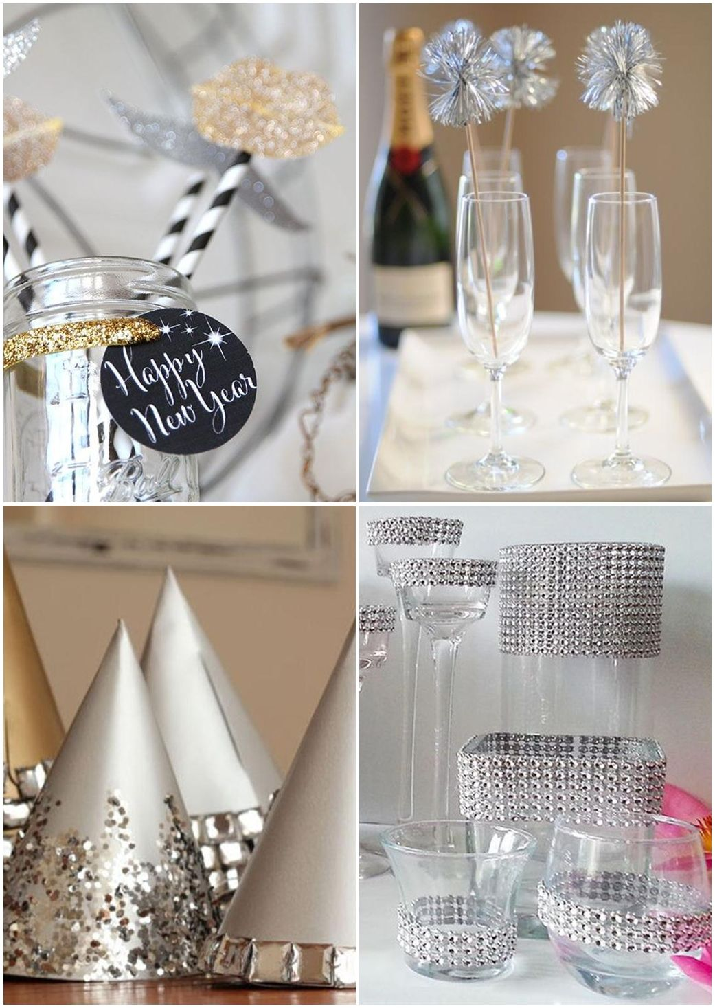 Diy Bling Party Ideas Black Amp Bling Hen Party Bling Party