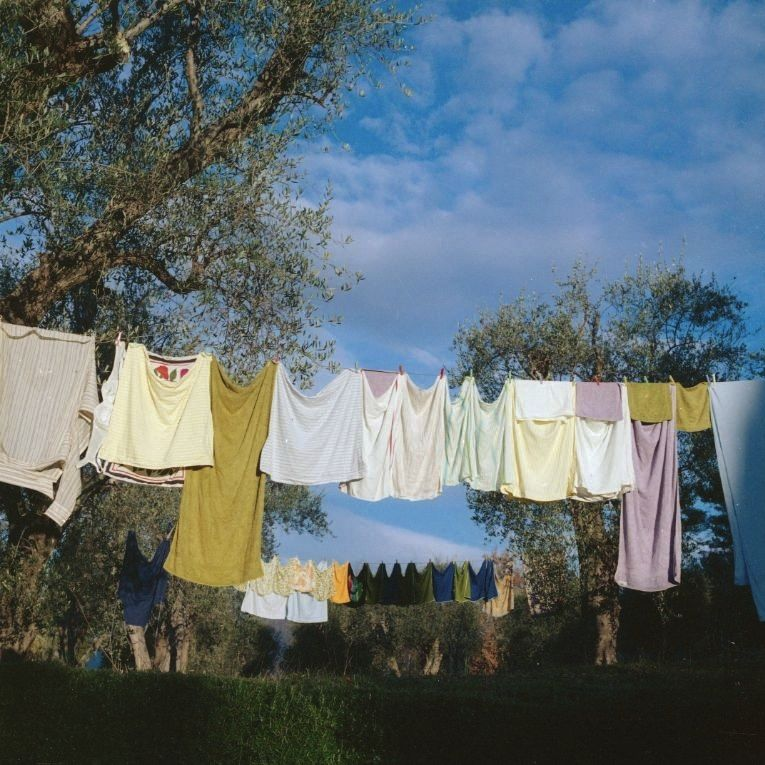 """Wash day at la Pitchoune"", 1973"