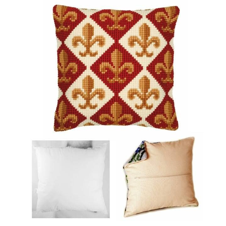 Pin by Crafts From DRK on Cushion Front Cross Stitch Kit