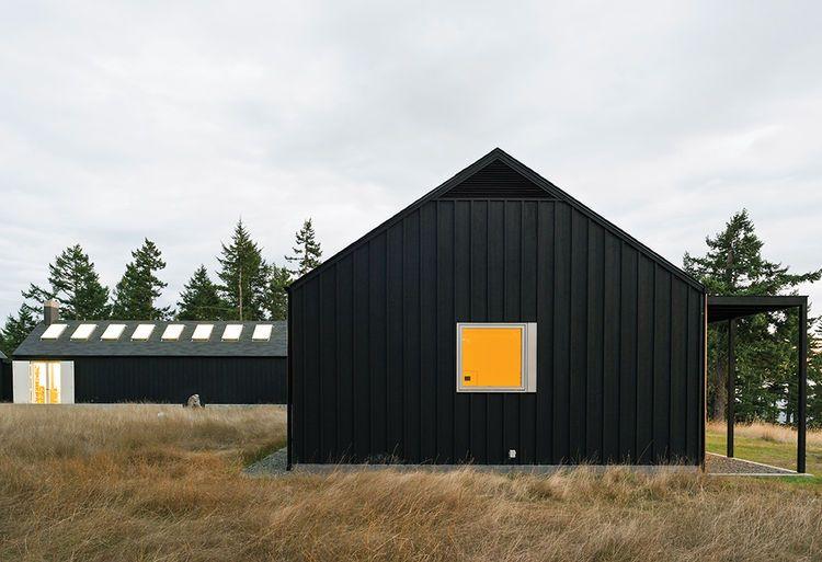 Idyllic Home Designed For An Artist Dwell Gable House Artist House