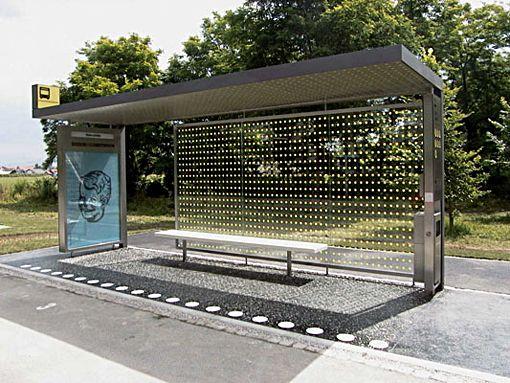 We Stop For Cool Bus Stops Com Imagens Mobiliario Urbano