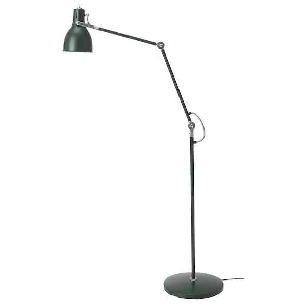 ARÖD Lampa podłogowado czytania, zielony, Zamów dziś IKEA