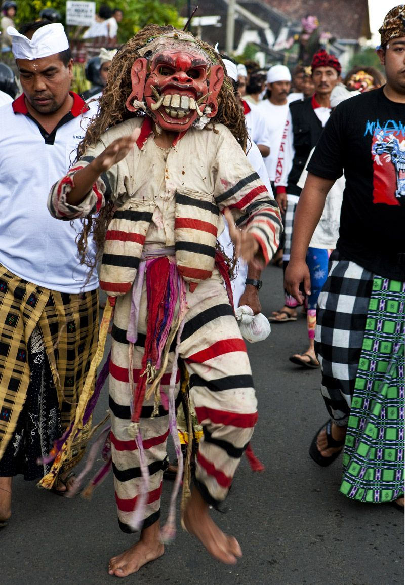 Day before Nyepi (Day of Silence)- Bali. David Hagermen photo