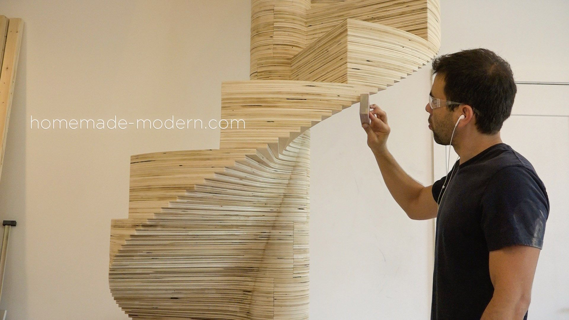 Best Homemade Modern Diy Ep99 Diy Cnc Spiral Staircase 400 x 300