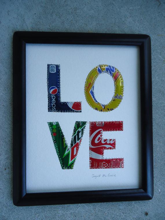Wedding Gift 10 Year Anniversary 10th Wedding Anniversary Love