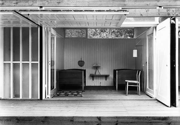 Vilhelm Wohlert Summer House For Physicist Niels Bohr Tisvilde 1957 Via Arkitekter Arkitektur Og House