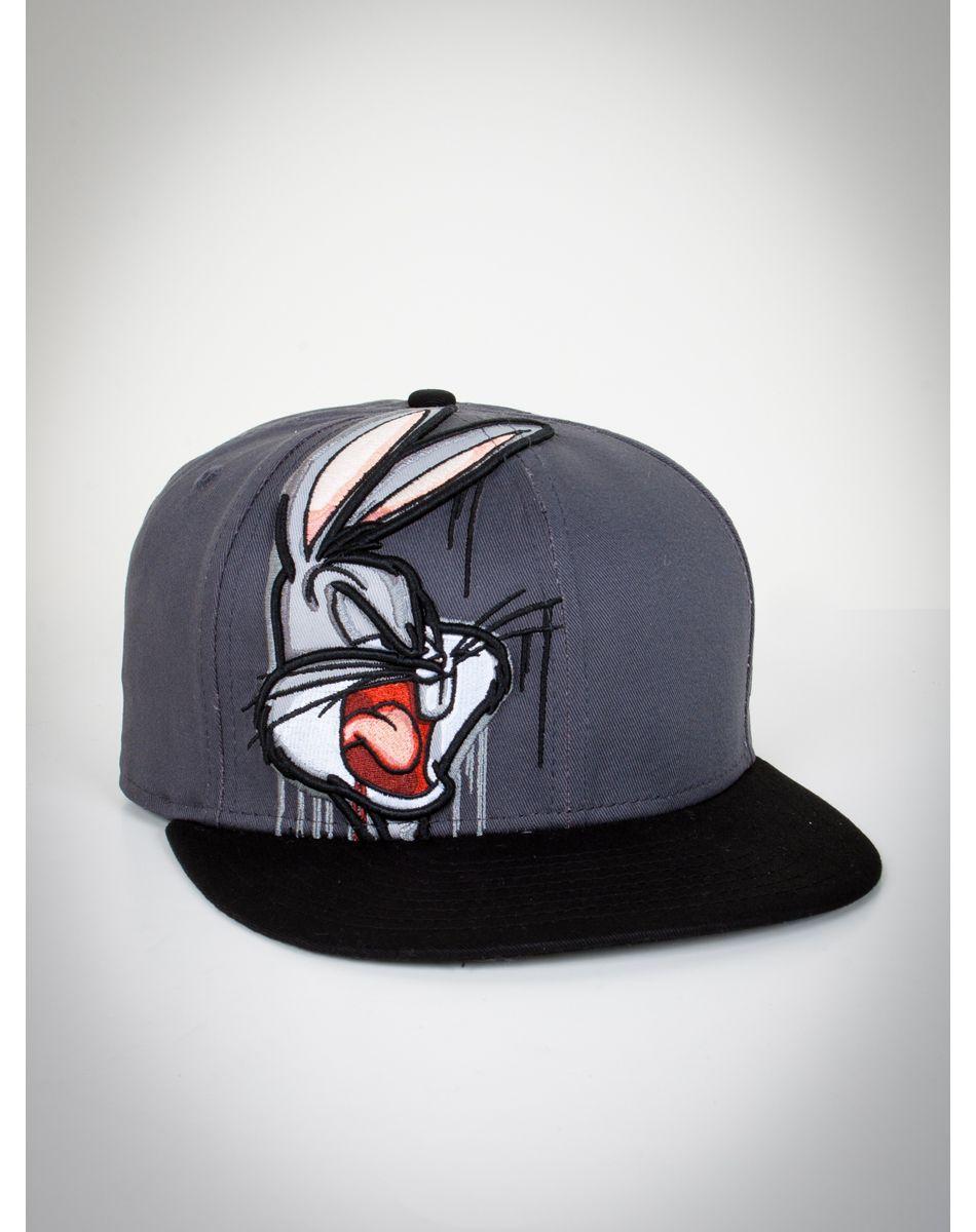 d878265f29f7f Bugs Bunny Drip Snapback New Era Hat