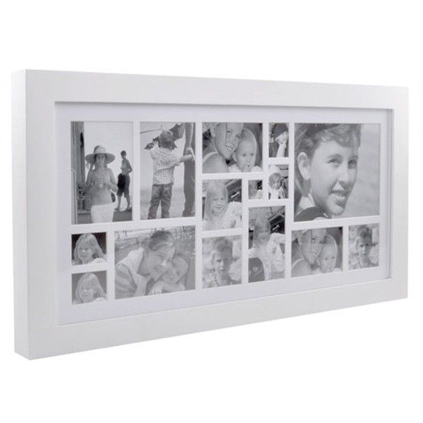 Image Multi Frame 15 White Luxury White Photo Frame Xlboom Multi Photos Frame White Photo Frames Frame