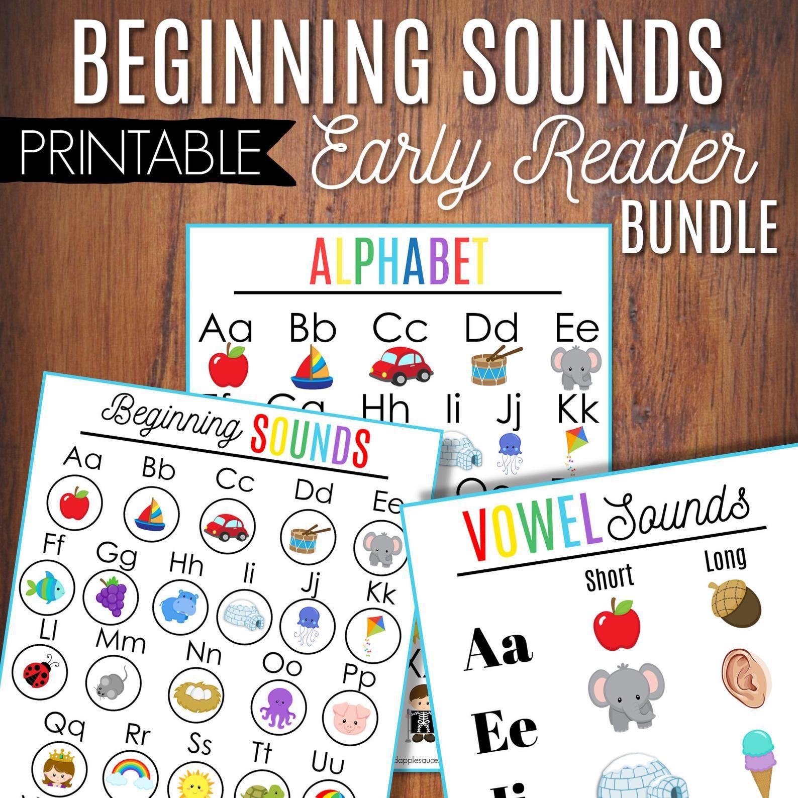 Beginning Sounds Alphabet Practice Vowel Sounds Classroom