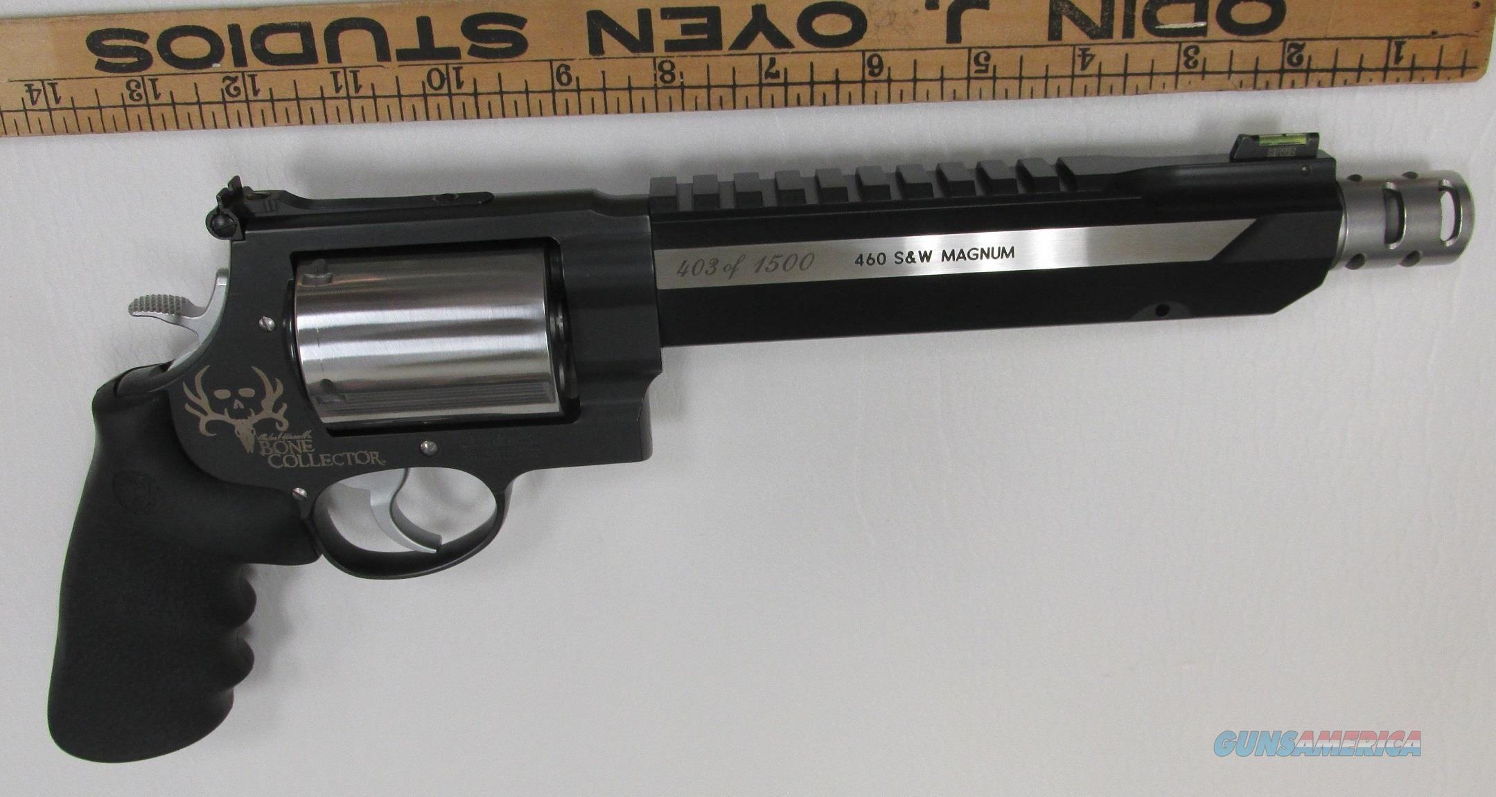 25023573f7 Smith & Wesson 460XVR Bone Collector Magnum Performance Center Revolver  ''7.5