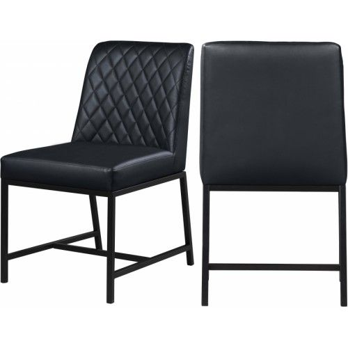 Rivington Faux Leather Dining Armchair Chairs Barker