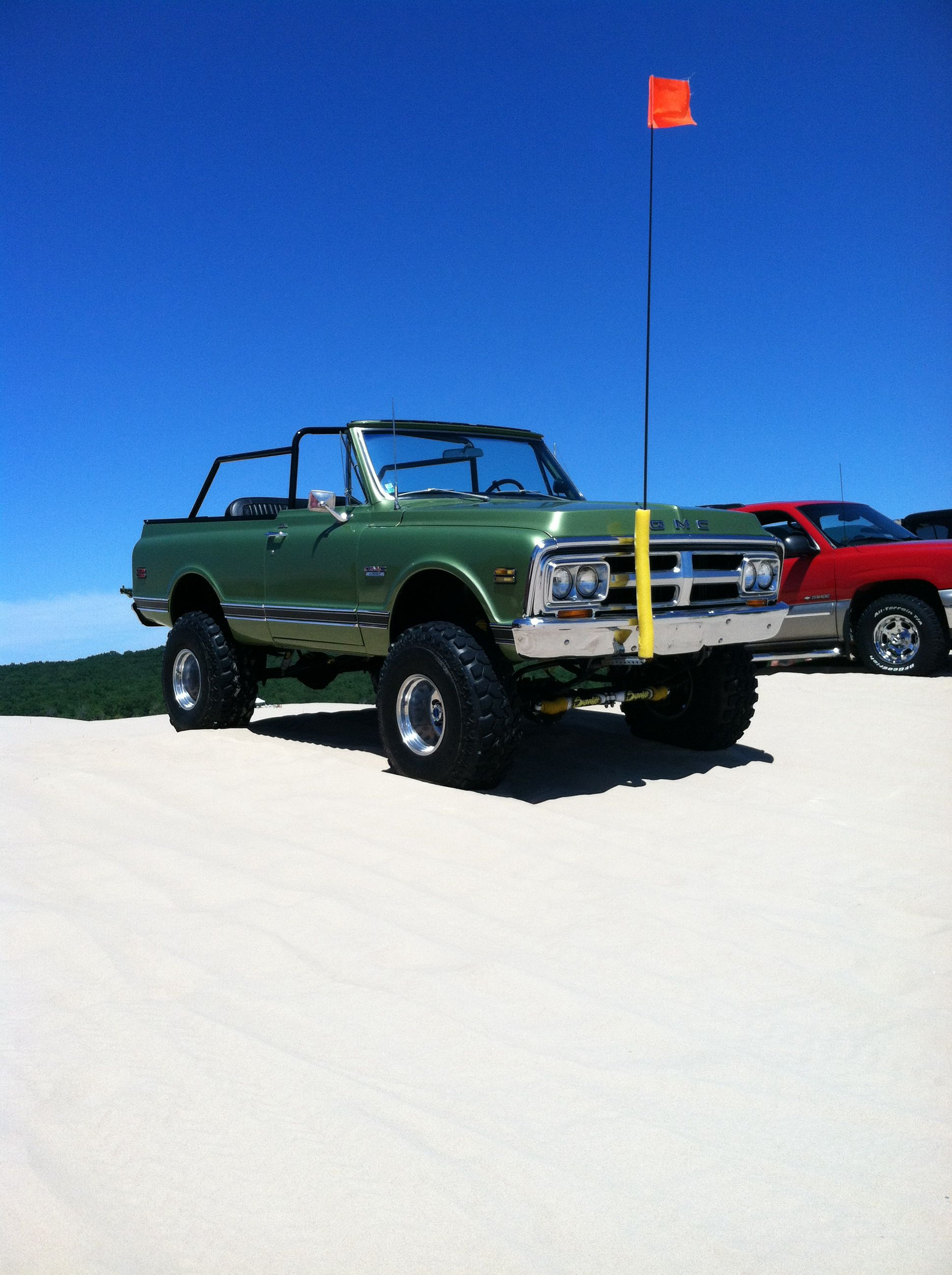 1972 Gmc Jimmy Silver Lake Sand Dunes Chevy Blazer K5 Chevrolet Blazer Silver Lake Sand Dunes