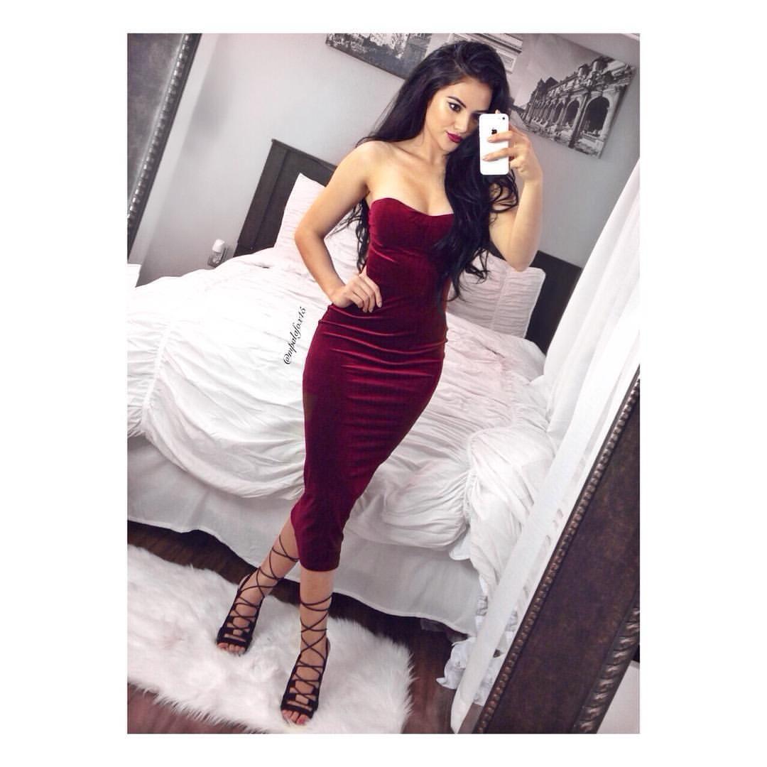 Maria Palafox   Official IG On Instagram U201cValentineu0026#39;s Day Inspired Look Dress ...