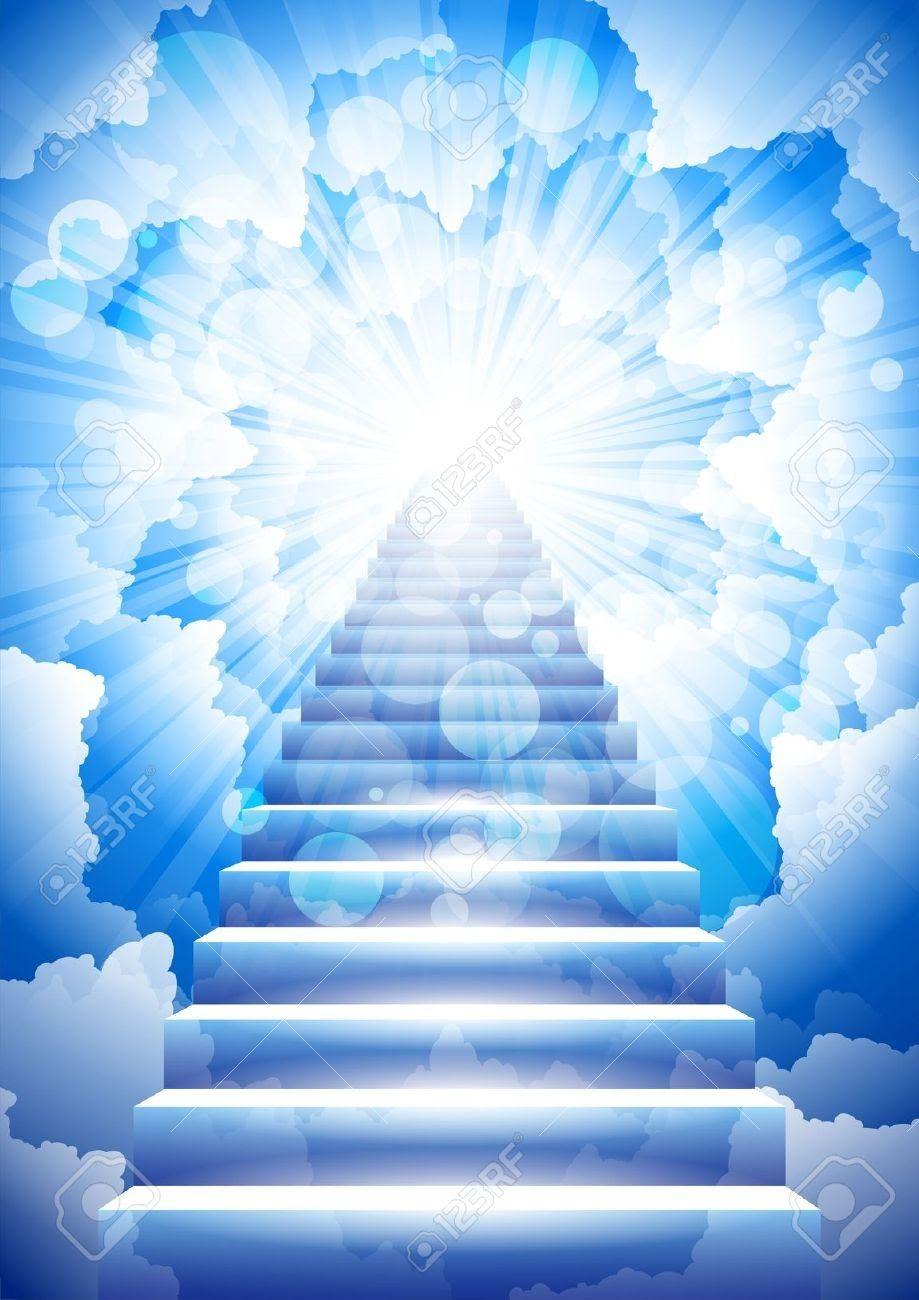 J'ai eu une vision sur l'enlèvement de l'Église | Stairway to heaven,  Tatouages ciel, Enfer et paradis