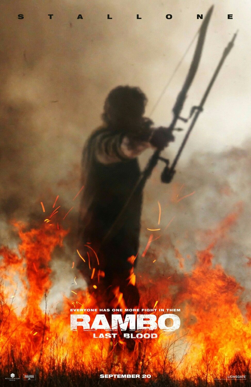 First Teaser Poster For Rambo Last Blood Rambolastblood