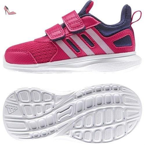 adidas , Chaussures de course pour garçon rose - multicolore - Rose / violet / blanc, 23 EU - Chaussures adidas (*Partner-Link)