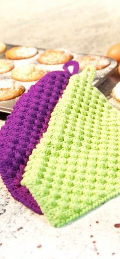 cotton-fun-topflappen-mit-noppen | Häkeln | Pinterest | Crochet ...