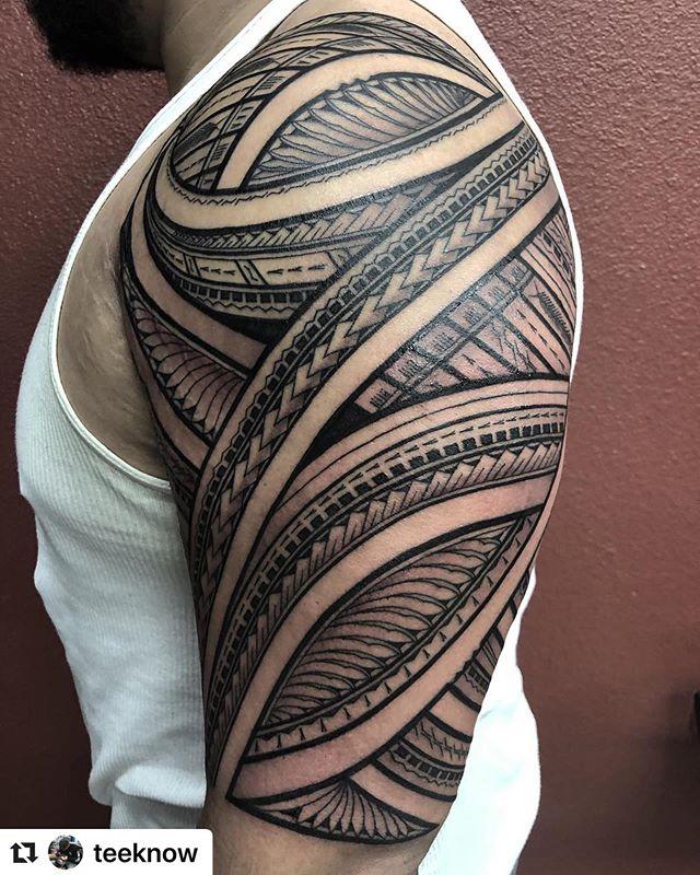 Best Polynesian Tattoos Best Polynesian Instagram Photos And Videos Polynesian Tattoo Tattoos Polynesian
