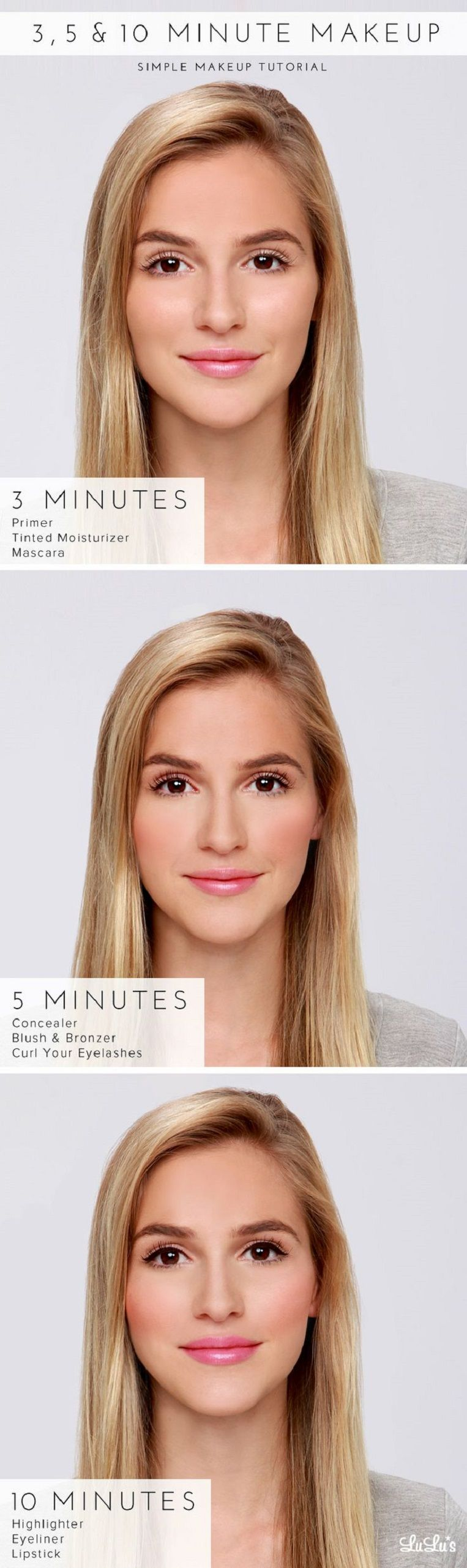 Quick makeup for work tutorials makeup tutorials and easy looking for quick easy 10 minute makeup tutorials for work weve rounded up 15 professional natural makeup looks that you can do in 10 minutes or less baditri Images