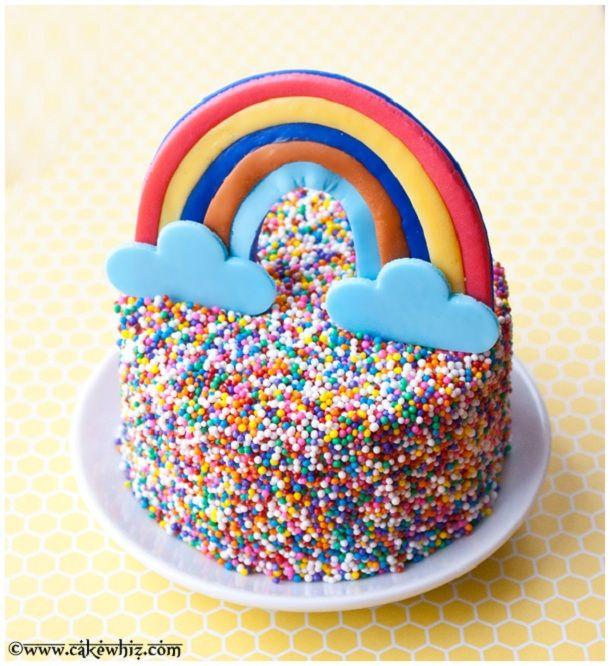 bolo arco iris 2