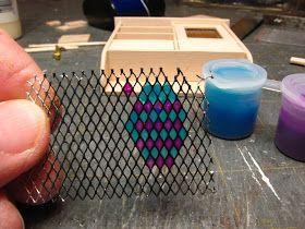 Dollhouse Miniature Furniture - Anleitungen | 1 zoll minis: 1 zoll skala hängen w ... -  #anl... #miniaturedollhouse