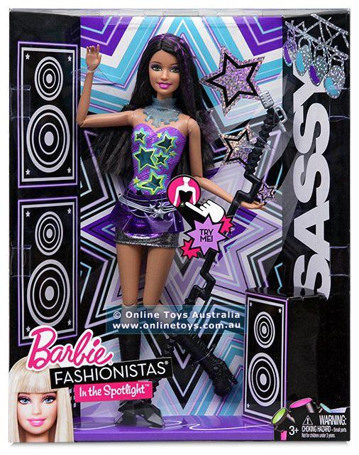 Barbie - Fashionistas In The Spotlight - Sassy