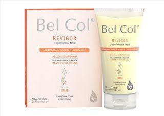Beleza e etc..: Revigor - Bel Col - creme facial com DMAE - firmez...