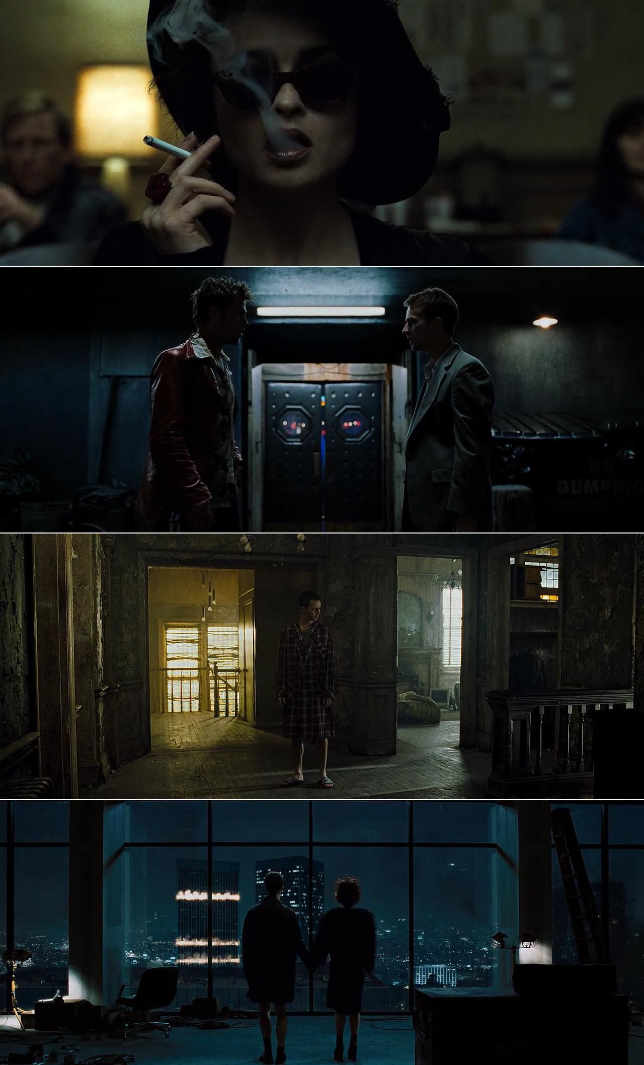 fight club 1999 cinematography by jeff cronenweth