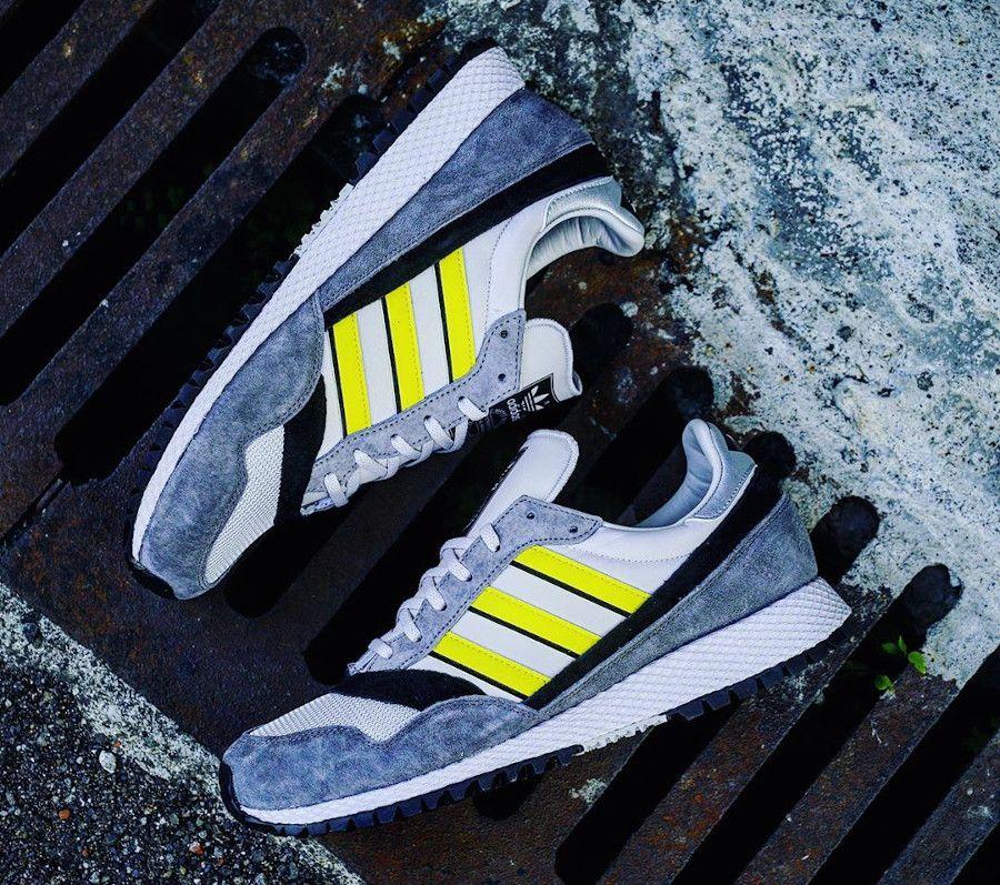 Adidas Ashurst SPZL Spezial Grey Yellow Black (2020) en 2020