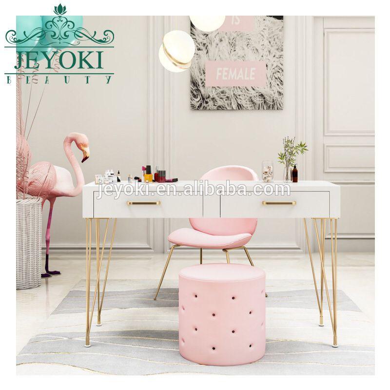 2019 Hot Sale Lovely Modern Manicure Table Salon Nail Table Manicure Table Nail Salon Furniture Salon Furniture