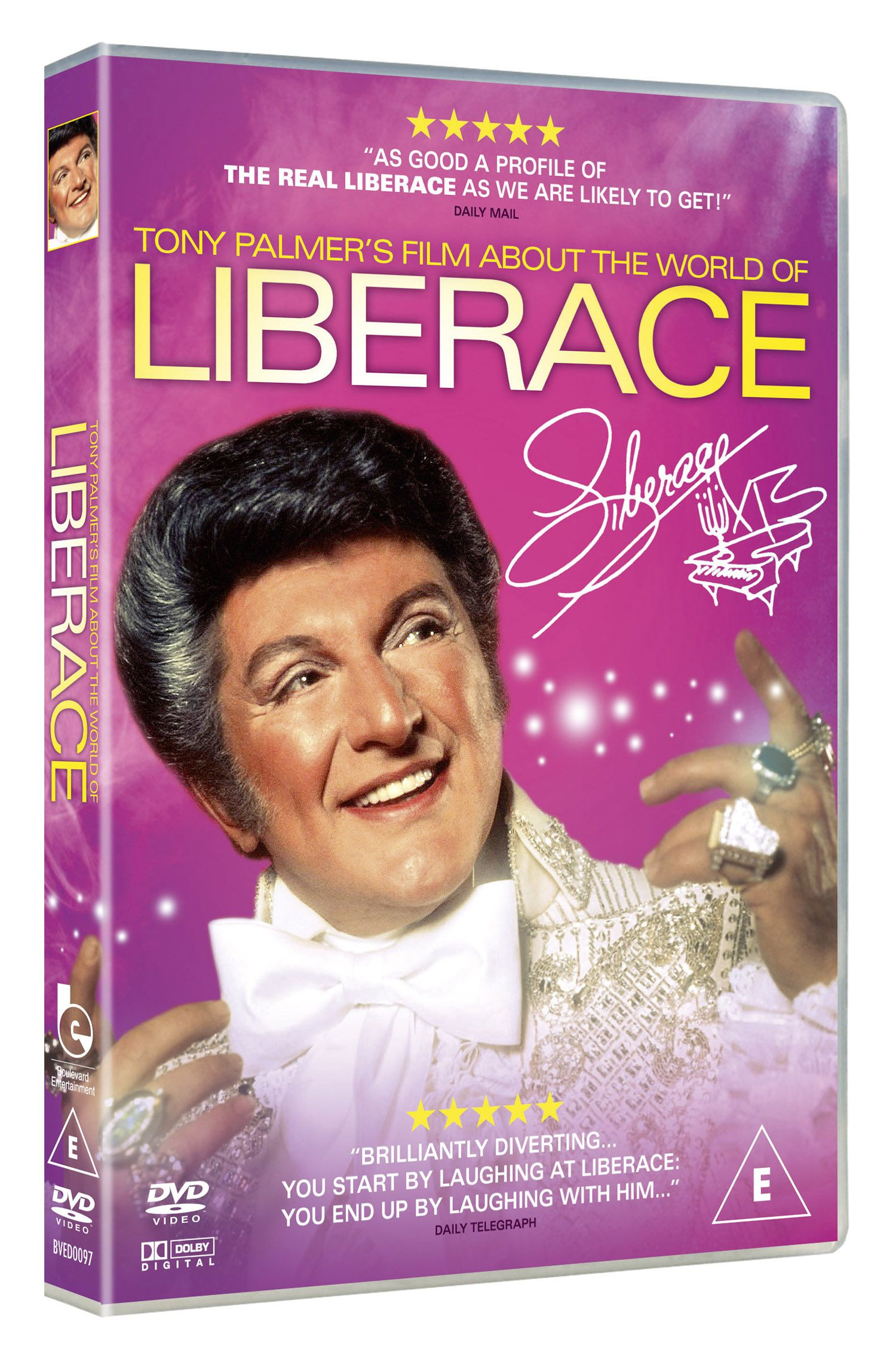 The World Of Liberace comes to DVD 29 July 2013.