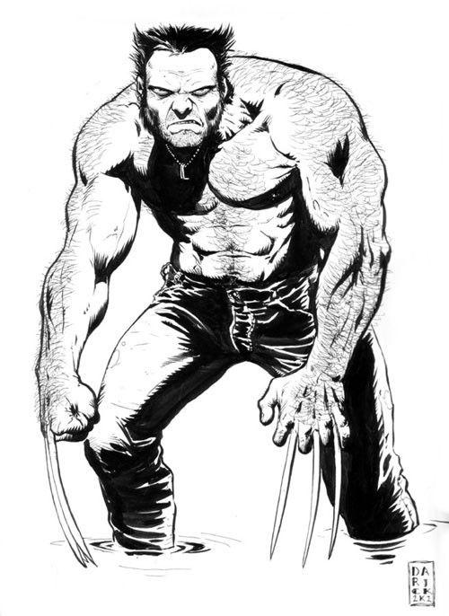 Wolverine - Darick Robertson