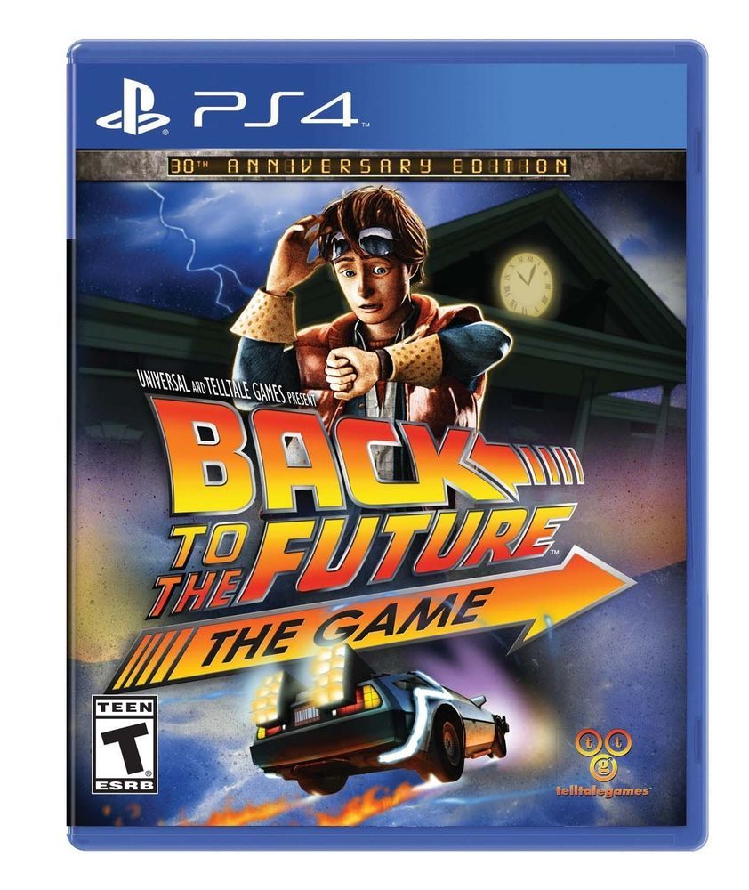 Ps4 Back To The Future 4 The Game 30th Anniversary Best
