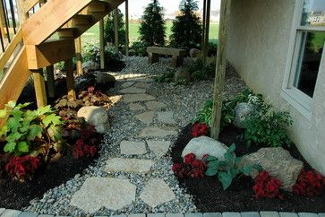 Full Shade Landscaping Ideas For Under A Deck Landscape Design Pictures Remodels And Decor