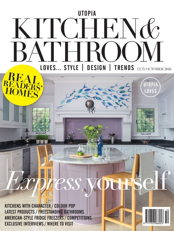 Kitchen Magazines Suspended Shelves October Issue Of Utopia Bathroom Magazine Is Now On Sale Http