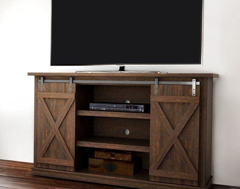 Rustic entertainment center tv stand console wood furniture 60 rustic entertainment center tv stand console wood furniture 60 espresso finish sciox Image collections