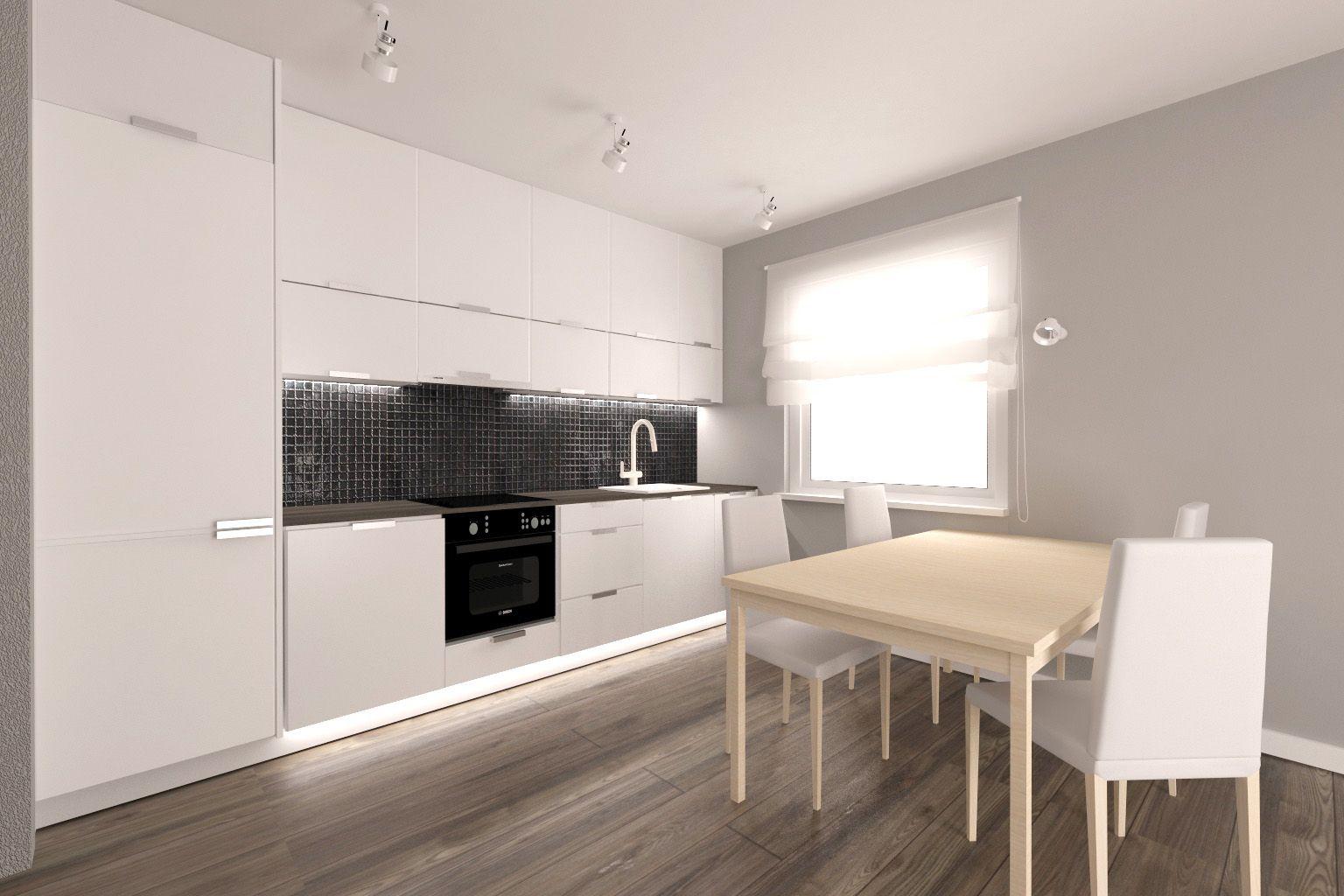 Projekt Kuchni W Mieszkaniu Pod Wynajem