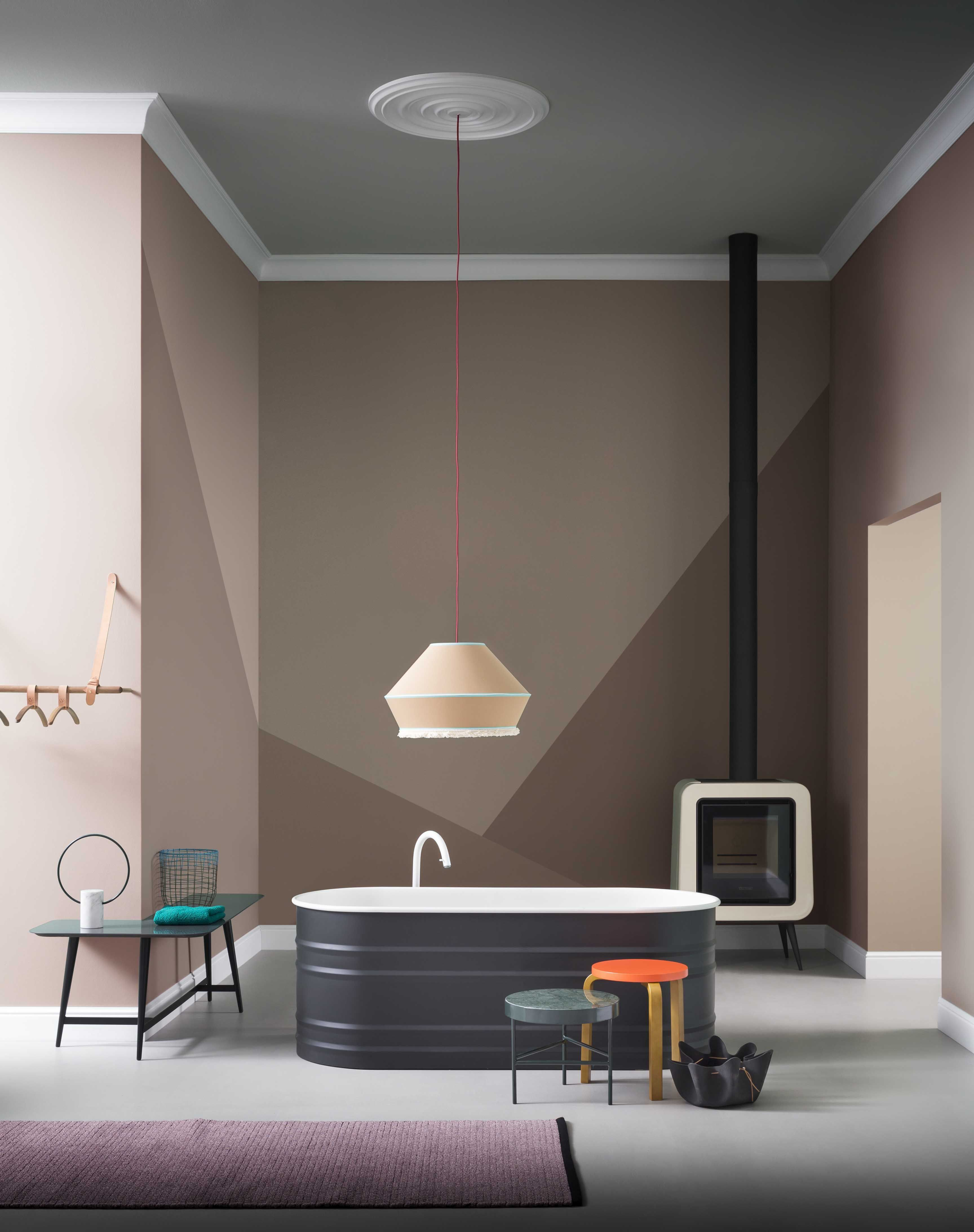Interior in loft style: for the brave and the daring