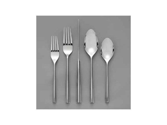 Nambe Flatware Stainless Emily 5 Piece Place Setting