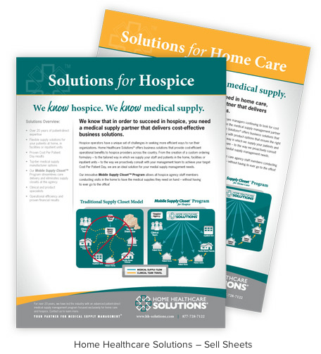 Home Healthcare Solutions Sell Sheets Check Out More About Home Healthcare Solutions Hhs On Our Case Studi Healthcare Solutions Medical Supplies Health Care